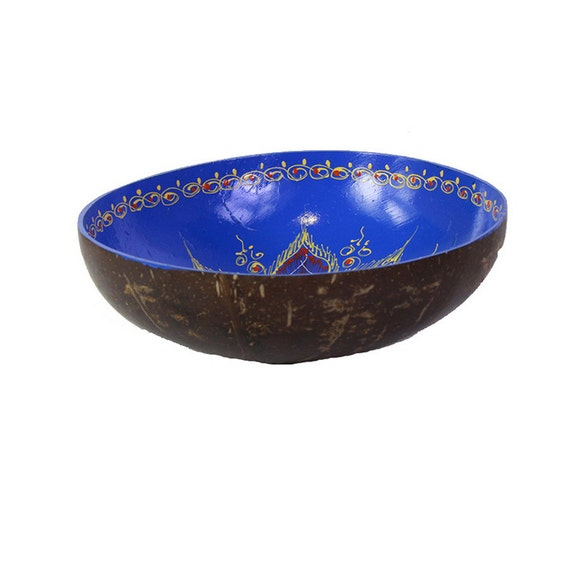 Classic Oriental Decorative Multipurpose Handmade Coconut Shell Handcraft Bowl (PC 30)