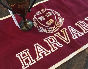 Vintage Harvard Banner