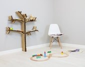 Mini Oak Tree Bookshelf