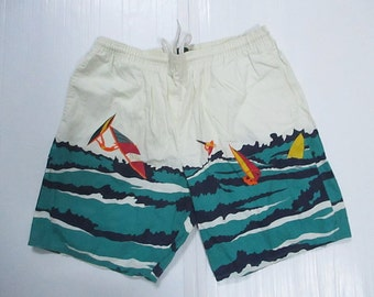 NAUTICA Hawaii Men's Board Surf Shorts swimmg pant size L