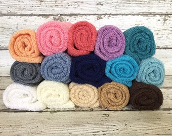 Ready To Ship, you choose color, Newborn stretch wrap, newborn photo props, stretch knit wrap, newborn wrap, wholesale baby wrap