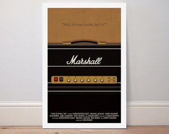 Movie poster 'This is Spinal Tap' print
