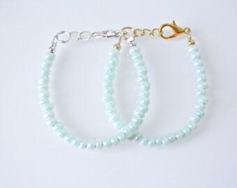 The Sea Foam Bracelet