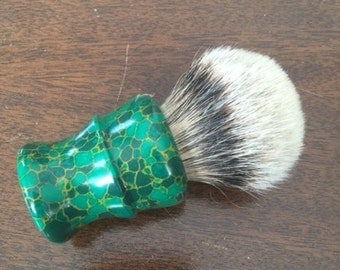 Handmade Shaving Brush - Silvertip Barger Hair Knot 26mm