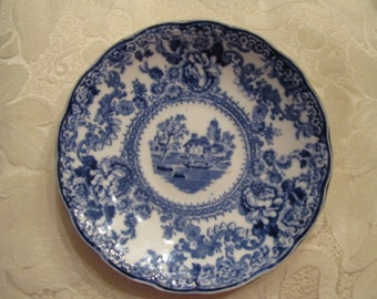 Colonial pottery -Stoke England- Togo- saucer/ small plate