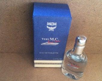 Very MC by MCM. 90s Vintage perfume.