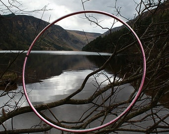 Polypro Hoop with Pink Iridium colour morphing tape