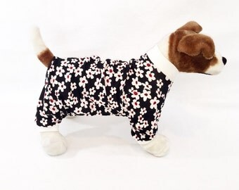 Zoey's Dog Pajamas - Handmade Dog Clothes, Dog Clothing, Dog Apparel