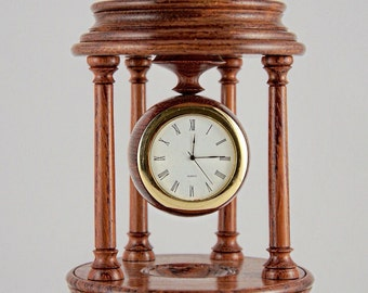 Very elegant mantle clock and based on an antique style.