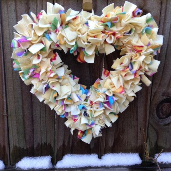 gender neutral baby shower gift baby wreath birth gift yellow
