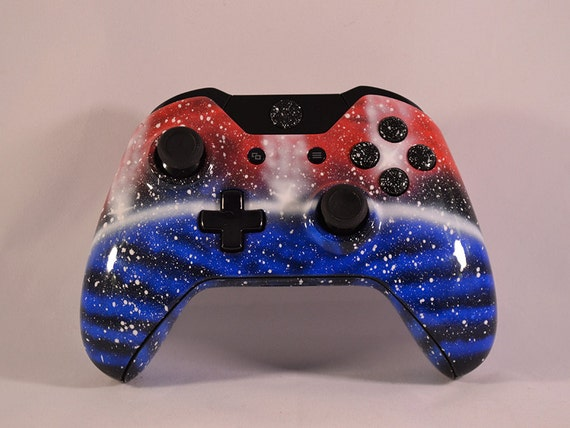 Custom Painted Xbox One Controller Space Galaxy by StyloBrand
