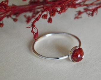 Petite Sterling Silver Memorial Ring