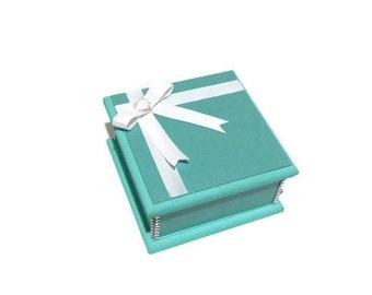 Elegant 'Little Turquoise' Keepsake Box