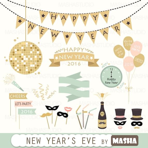 new years balloons clip art - photo #34