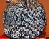 Sherlock Herringbone Deerstalker