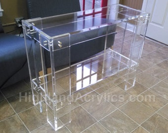 Acrylic Console / Sofa Table