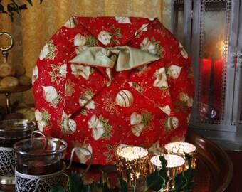 Christmas tea cosy , tea cozy, theemuts, Kersttheemuts