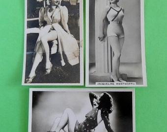 Vintage Cigarette Card Ardath Cigarettes Photocards A Continuous Series of General Interest c1930's