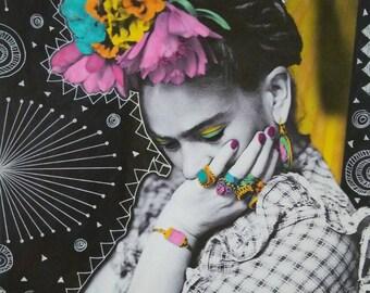 Thinking Frida Print