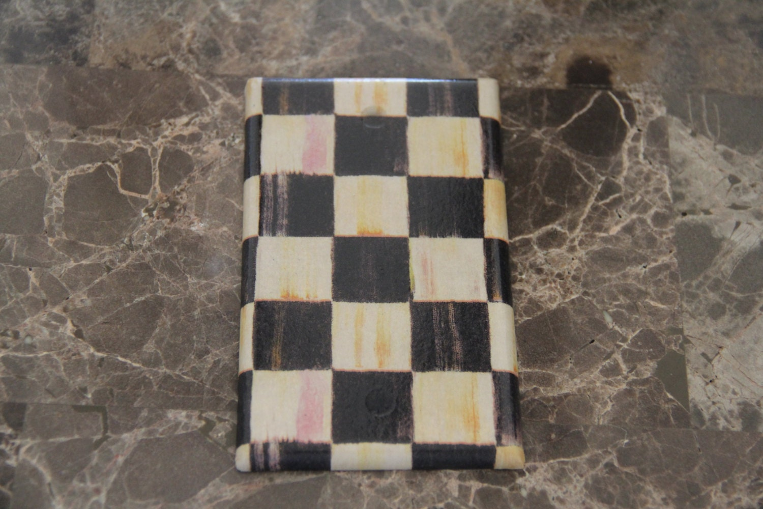 Blank Plate Outlet Cover Made With Mackenzie Childs Courtly