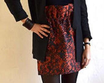 Handmade skirt,  unique piece,  Madison Cruz