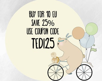 Buy for 10EU, save 25%, coupon code TEDI25