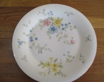 royal doulton elegy dinner plate . vintage dinner plate ref 1