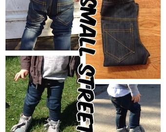 Baby boy skinny jeans blue