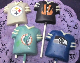 Football Teams Sports Jersey chocolates lollipops