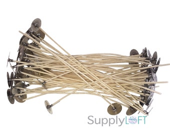 "Rigid Candle Wicks 2.486 6"" 100 PACK - INTRODUCTORY PRICE"