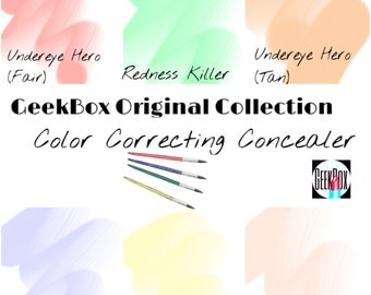 Color Correcting Concealers (GeekBox Original Collection)