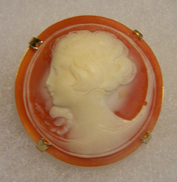Custom Cameo Resin Pins Diy: Resin Cameo Brooch