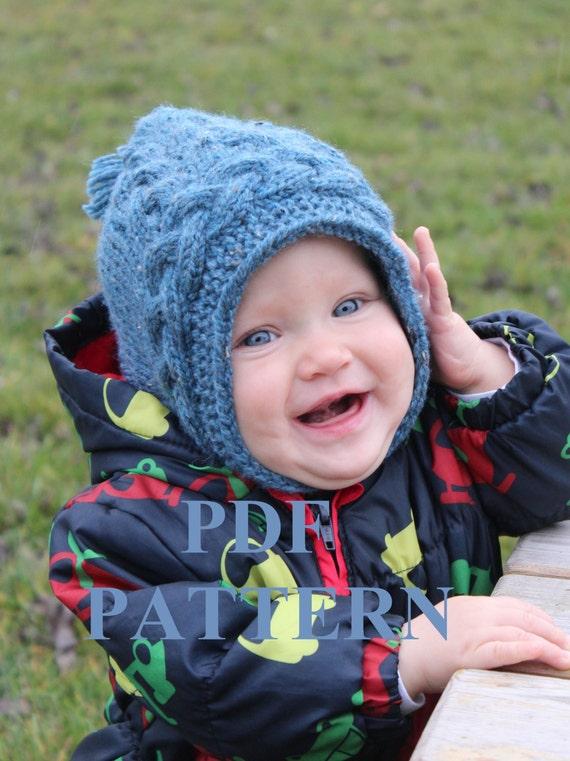 Balaclava Knitting Pattern Child : Knitting PDF pattern Knit Balaclava hat Balaclava by DewKnit