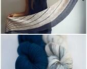 Pure Joy Yarn Kit - 2 skeins of Pura Sock (100% merino)