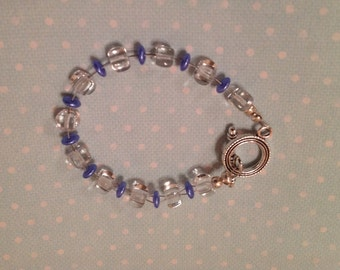 Handmade Glass Beaded Bracelet.