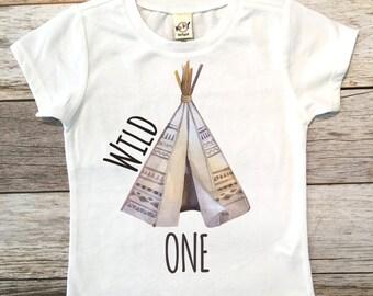 Wild One Birthday Shirt, Boy Birthday, Birthday Boy, First Birthday Shirt, 1st Birthday Boy Shirt, First birthday outfit, Smash cake shirt