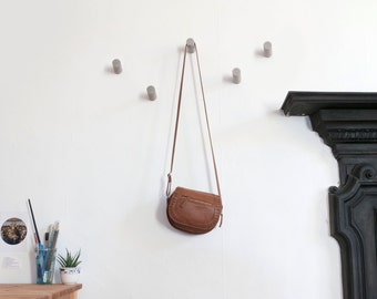 Concrete wall hooks/Coat hook/Towel hook/Hanger/Storage/Holder/Peg/Wall mount/Beton/Nursery/Industrial/Minimalist/Rustic/Decor/Gift/SET OF 5