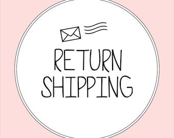 ADD-ONS, Return Shipping