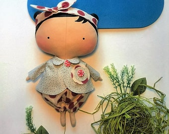 Gift idea Tilda doll Gift for daughter Rag doll Handmade dolls Girl toy Girlfriend gift kids Fabric dolls Cloth doll Custom doll Toys