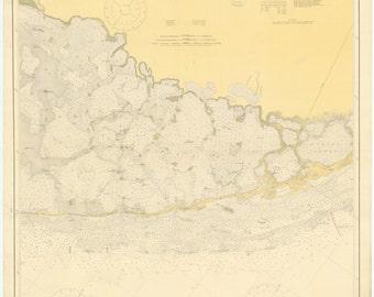 Florida Keys Map 1919 (Upper keys)