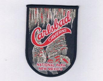 Vintage Carlsbad Caverns National Park New Mexico Patch