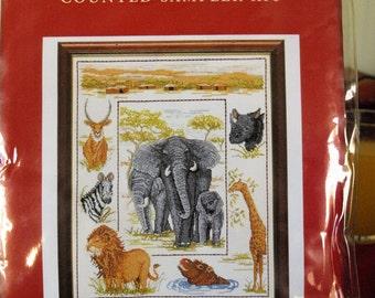 African Sampler Cross Stitch Kit