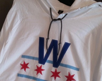 Chicago Cubs WIN Long-Sleeve Lightweight Hoodie - LIMITED