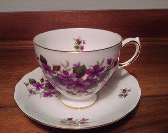 Queen Anne Ridgway English Cup and Saucer