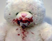 Evil-Possessed, Candarian Daemon Teddy Bear! Evil Dead. Lovecraft. Cthulhu.