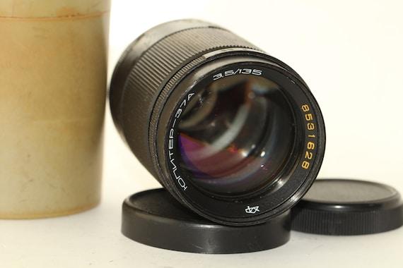 JUPITER 37A  USSR Tele-Lenses 3.5/135mm M42 Zenit Canon j