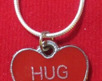 Hug Me Valentine Heart Necklace