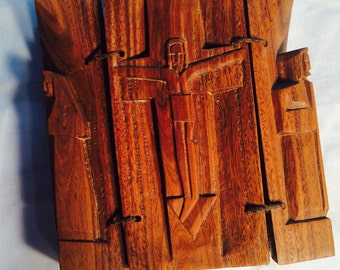 Olive Wood Triptych