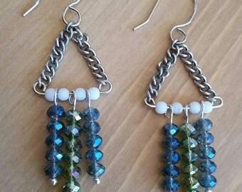 NOW 50% OFF Crystal Bead Earrings