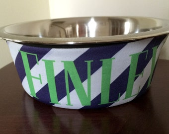 Personalized Dog Bowl - Personalized Doggie Bowl - New Puppy Gift - Dog Accessories - 1 Quart Bowl